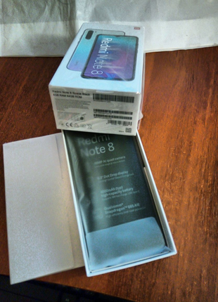 смартфон xiaomi redmi note 8 4/64 gb глобальная