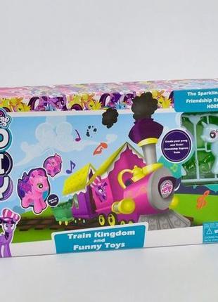 Железная дорога My little Pony со звуковыми эффектами