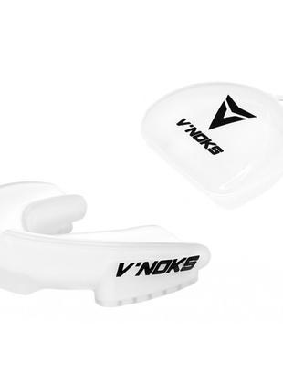 Капа боксерская V`Noks 3D Gel Aria White белая