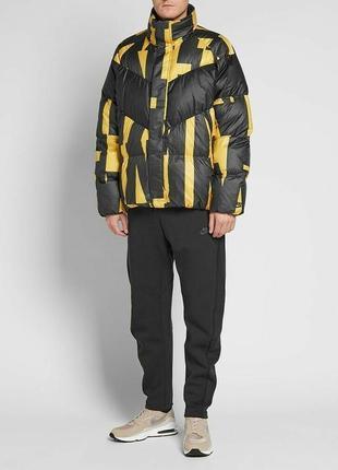 Зимняя куртка пуховик парка nike sportswear jordan (s-m) ориги...
