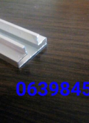 Вставки в экономпанели алюминиевые 100 см