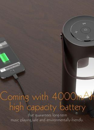 Портативная колонка Bluetooth USB разьём с функцией PowerBank ...