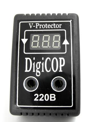 Цифровое реле напряжения Digi COP 10А (защита от перепадов нап...