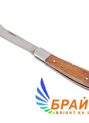 Нож прививочный прямой (окулировочный) PALISAD складной