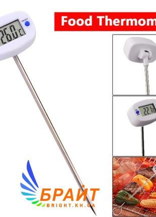 Цифровой термометр TA-288 со щупом для мяса,выпечки,молока