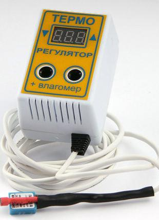 Терморегулятор цифровой с влагомером ЦТРВ для инкубатора