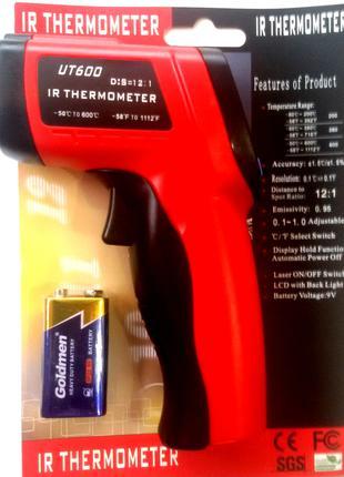 Безконтактный термометр пирометр UT 600 (-50 +600 С)