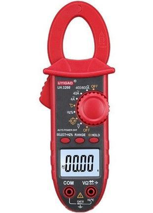 Цифровые токоизмерительные клещи UA-3268B + температура c подс...
