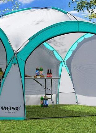 Садовый павильон Swing DS-350 бирюзовый