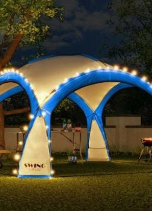Садовый павильйон Swing DS-350 синий без подстветки