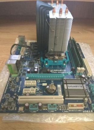Процессор AMD Phenom II X6 (шестиядерный) + Gigabyte GA-M68MT-S2P
