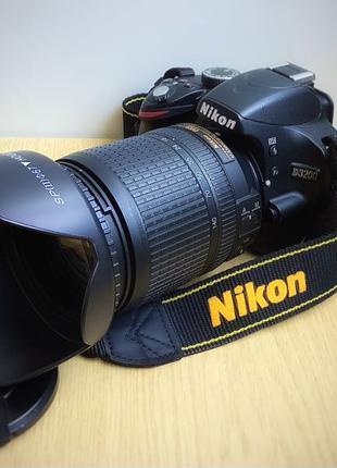 Никон д 3200 с 18—140 VR. Пробег 800 снимков
