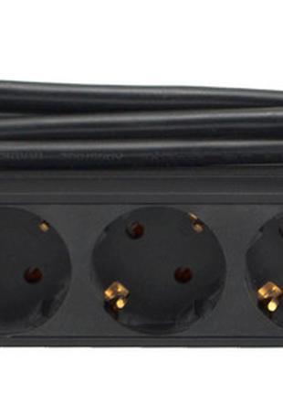 """Розеточный блок 19"""" на 9 розеток для серверов 1U 16A 1,8 метра..."""