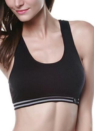 Топ спортивный эластичный, одежда для фитнеса
