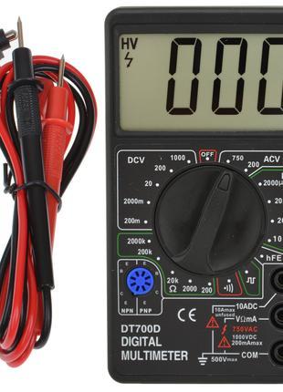 Цифровой портативный мультиметр DT-700D (2665)
