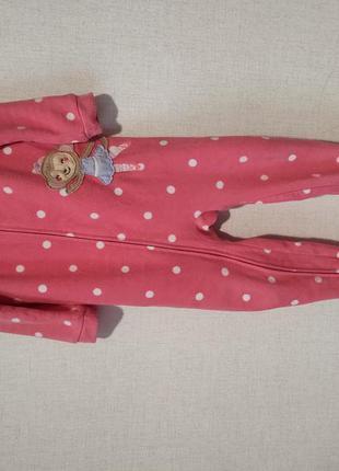 Человечек пижама флис