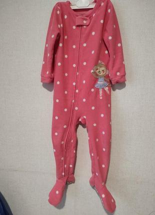 Человечек флис пижама