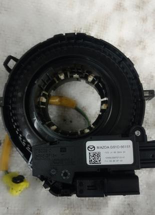 Шлейф airbag MAZDA 6 (GH) 2008-2012 (оригинал) б.у GS1D-661S1