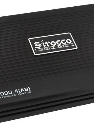 Автомобильный 4-канальный усилитель звука Sirocco SC-2000.4 (A...
