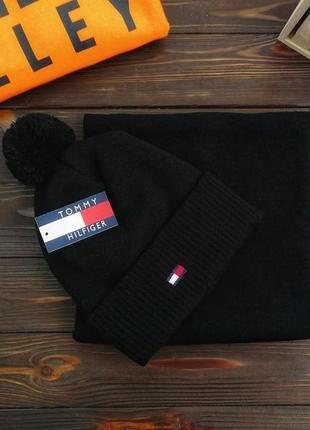 Комплект шапка зимняя и бафф отличный подарок