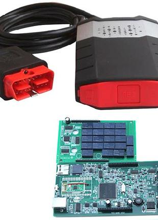 Delphi DS150E V3.0 3в1 OBD2 и Bluetooth сканер диагностики авт...