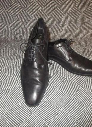 Туфли geox кожа