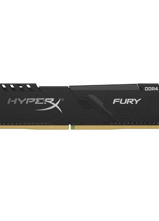 Модуль памяти DDR4 8GB 3200MHz Kingston HyperX Fury C16-18-18