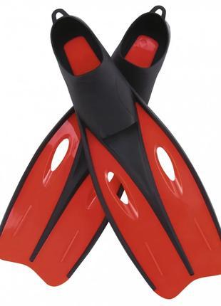 Ласты для плавания BW 27025 размер 35-37, в сетке (Красный)