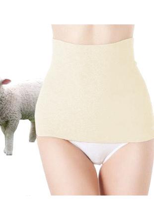 """Пояc лечебно-согревающий из овечьей шерсти """"Nebat"""" размер 54"""