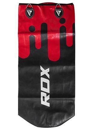 Чехол для боксерского мешка RDX черно-красный 1 м