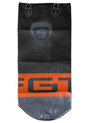 Чехол для боксерского мешка RDX черно-оранжевый 1 м