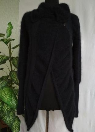 Женский свитер кадиган ангора.