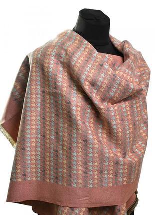 Теплый кашемировый шарф. платок женский