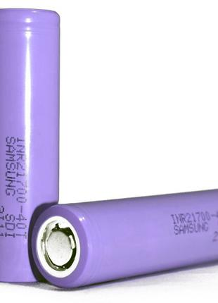 Аккумулятор литиевый 21700 Samsung 40T (INR21700-40T) 4000mAh ...