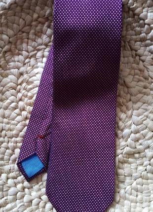 Стильный  100% шелк галстук от французского бренда daniel hechter