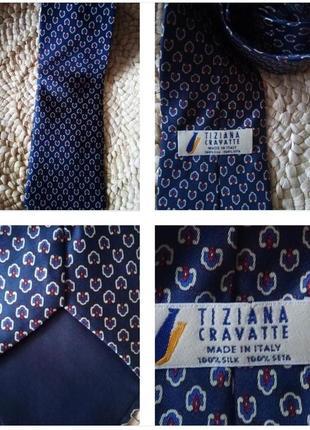 Стильный галстук из 100% шелка !