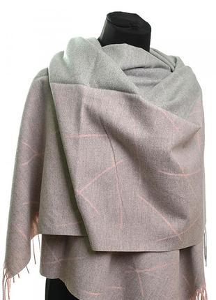 Теплый кашемировый шарф платок женский жіночий