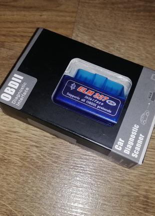 Автосканер OBD ELM327 Bluetooth Mini On/Off (V1.5)