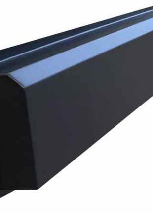 Форма для бордюра Дорожный №3-А Размеры 1000х200х80 мм