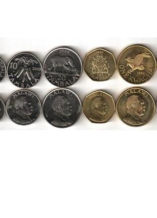 Набор монет Малави UNC