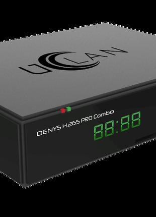 Т2/спутниковый тюнер uClan Denys H.265 Pro Combo