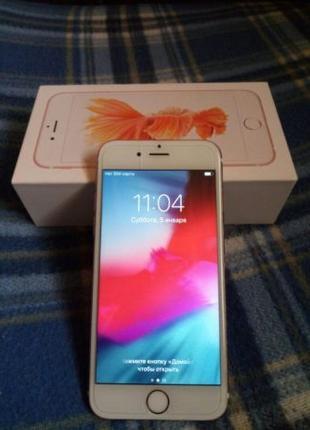 IPhone 6s, rose gold, 64 gb
