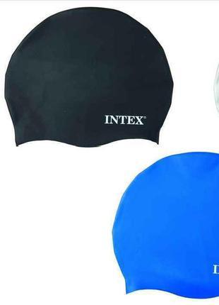 Шапочка для плавания, силикон, 8+лет, 3 цвета, 20см в п/э 15,9...