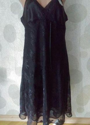 Платье в бельевом стиле пеньюар