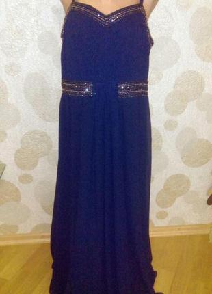 Вечернее платье so fabulous ,большого размера