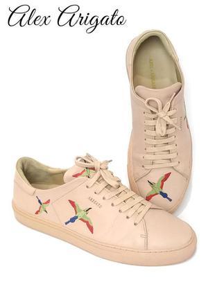 Дизайнерские кожаные женские кроссовки alex arigato clean 90 b...