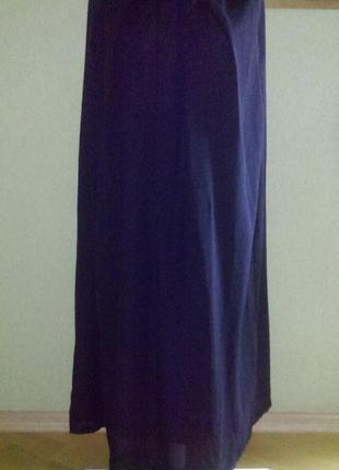 Красивая юбка в пол из шифона