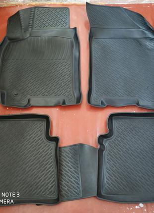Резиновые коврики lacetti