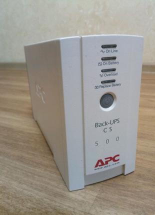 ДБЖ apc back-ups cs 500