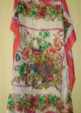 Шелковый платок  батик   оригинал